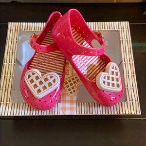 Toddler mini Melissa shoes 🎀